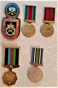 Şəhid Aqil Məlikov medalları