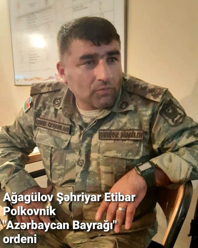Ağagülov Şəhriyar Etibar oğlu