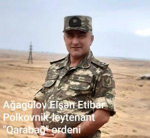 Ağagülov Elşən Etibar oğlu
