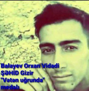 Balayev Orxan Vidadi