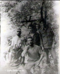 Birinci Qarabağ savaşında Əli bəy döyüş yoldaşları ilə